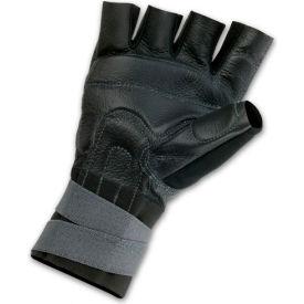 Ergodyne® ProFlex® 910 Impact Gloves w/ Wrist Support, Black, Large
