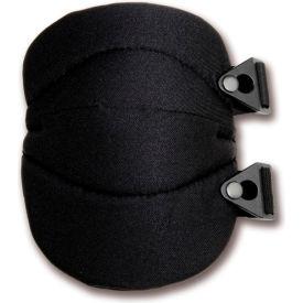 Ergodyne® ProFlex® 230 Wide Soft Cap Knee Pad, Black, One Size