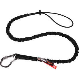 Ergodyne® Squids® 3100EXT Tool Lanyard, Black, Extended - Pkg Qty 6