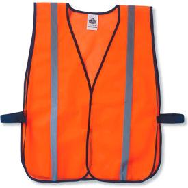 Ergodyne® GloWear® 8020HL Non-Certified Standard Vest, Orange, One Size - Pkg Qty 24