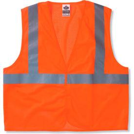 Ergodyne® GloWear® 8205HL Class 2 Super Econo Vest, Orange, 4XL/5XL