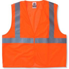 Ergodyne® GloWear® 8210HL Class 2 Economy Vest, Orange, 4XL/5XL