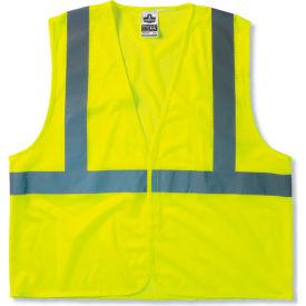 Ergodyne® GloWear® 8210HL Class 2 Economy Vest, Lime, S/M