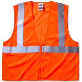 Ergodyne® GloWear® 8210Z Class 2 Economy Vest, Orange, L/XL