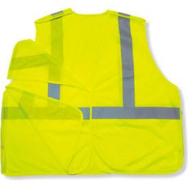 Ergodyne® GloWear® 8215BA Class 2 Econo Breakaway Vest, Lime, 4XL/5XL