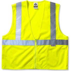 Ergodyne® GloWear® 8225Z Class 2 Standard Vest, Lime, L/XL