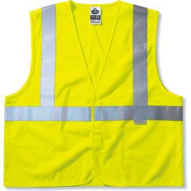 Ergodyne® GloWear® 8225HL Class 2 Standard Vest, Lime, S/M