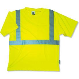 Ergodyne® GloWear® 8289 Class 2 Economy T-Shirt, Lime, L