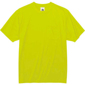 Ergodyne® GloWear® 8089 Non-Certified T-Shirt, Lime, 3XL