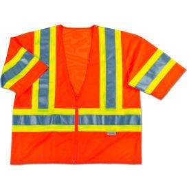 Ergodyne® GloWear® 8330Z Class 3 Two-Tone Vest, Orange, L/XL