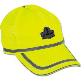 Ergodyne® GloWear® 8930 Class HW Hi-Vis Baseball Cap, Lime, One Size