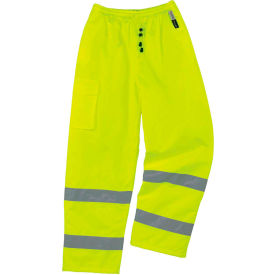 Ergodyne® GloWear® 8925 Class E Thermal Pants, Lime, 5XL