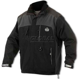 Ergodyne CORE Performance Work Wear® Outer Layer Thermal Weight Jacket, Small, Black, 41102