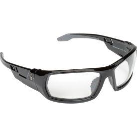 Ergodyne® Skullerz® Odin Safety Glasses, Clear Lens, Black Frame