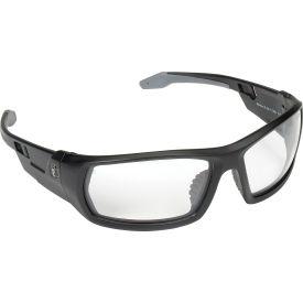 Ergodyne® Skullerz® Odin Safety Glasses, Clear Lens, Matte Black Frame