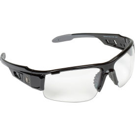 Ergodyne® Skullerz® Dagr Safety Glasses, Clear Lens, Black Frame