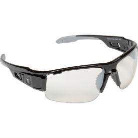 Ergodyne® Skullerz® Dagr Safety Glasses, Indoor/Outdoor Lens, Black Frame