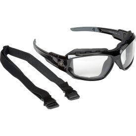 Ergodyne® Skullerz® Loki Safety Glasses/Goggles W/Fog-Off, Clear AF Lens, Black Frame