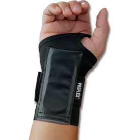 Ergodyne® ProFlex® 4000 Single Strap Wrist Support, Black, XL, Left