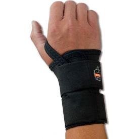 Ergodyne® ProFlex® 4010 Double Strap Wrist Support, Black, Small, Right