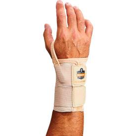 Ergodyne® ProFlex® 4010 Double Strap Wrist Support, Tan, Small, Right