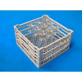 "Lamber CC00130 - Dishwashing Open Rack Plastic 16""L x 16""W x 7-7/8""H"