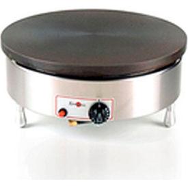 Eurodib/ Krampouz - Single Round S/S Frame Natural Gas Crepe Griddle