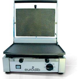 Eurodib/ Sirman - Single Panini Grill - Ribbed Top & Bottom 220 Volt