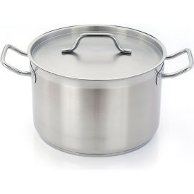 "Homichef HOM472014 - Sauce Pot, Stainless Steel With Aluminum Core, 8"" Dia."