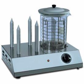 Sirman HOT DOG Hot Dog Steamer & Warmer, 30 Hot Dog Capacity, 110V by