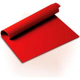 Eurodib/ Silikomart 1/R - Red Silicone Mat 23-1/2'' x 15-1/2''