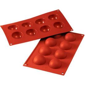 Eurodib/ Silikomart - Siliconflex Silicone Mold - Half-Spheres 1.96'' Dia.