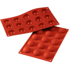 Eurodib/ Silikomart - Siliconflex Silicone Mold - Half-Spheres 1.57'' Dia.