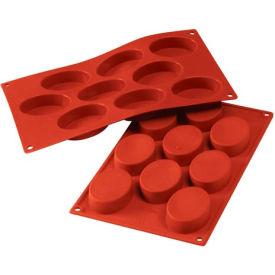 Eurodib/ Silikomart - Siliconflex Silicone Mold - Oval 9 Portions