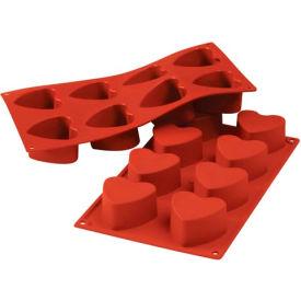 Eurodib/ Silikomart - Siliconflex Silicone Mold - Heart 2.35'' Dia.