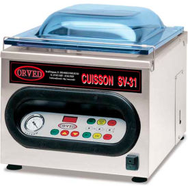 ORVED Chamber Vacuum With 3L Vertical Tank 120V SV31 by