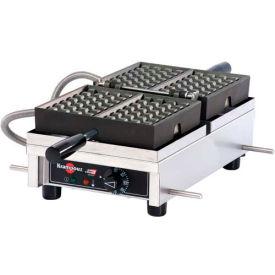 Krampouz Single Waffle Maker - 180° Opening, 240V - WECDBAAT
