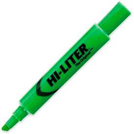 Avery Hi-Liter Desk Style Highlighter, Chisel Tip, Fluorescent Green Ink, Dozen by