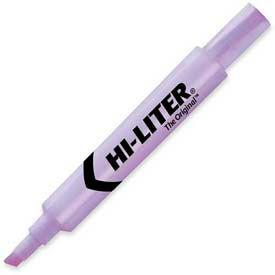 Avery Hi-Liter Desk Style Highlighter, Chisel Tip, Fluorescent Purple Ink, Dozen by