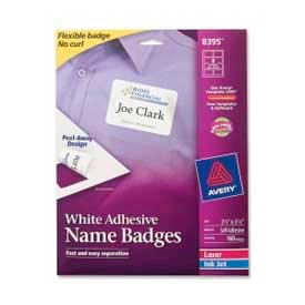 labels label makers name badges kits avery 174 adhesive