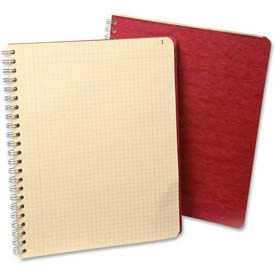 """Esselte® Computation Book, 9-1/4"""" x 11""""-3/4, Red Cover, 76 Sheets/Pad"""