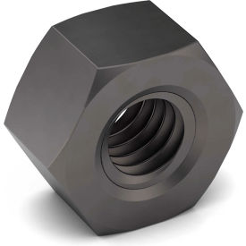 2 4-1/2 Hex Nut Grade 2 Carbon Steel Plain Coarse Package of 5 by