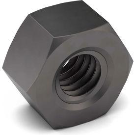 1-8 Hex Nut - Grade 8 - Left Hand - Carbon Steel - Zinc Yellow - Coarse - Pkg of 5