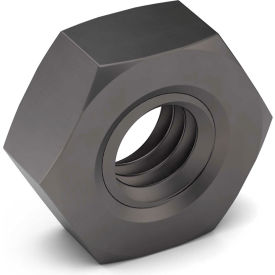1 1/2-12 Hex Jam Nut Grade 5 Carbon Steel Zinc Clear Trivalent Fine Package of 5 by