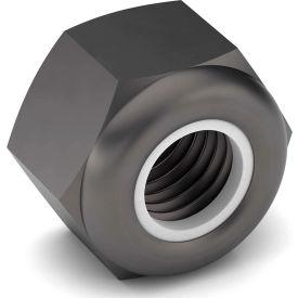 5/8-11 NE Nylon Insert Lock Nut - Grade 8 - Carbon Steel - Plain - Coarse - Pkg of 25