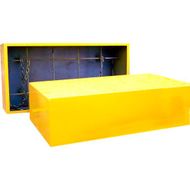 Saf-T-Lift Steel Test Weight 1563lbs. Capacity, Hi-Vis Safety Yellow - TST1250