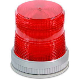 Edwards Signaling 105XBRMR24D Dual Mode LED Signal Red 24V DC