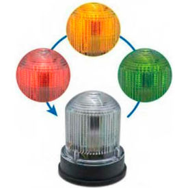 Edwards Signal 125XBRIRBA24DB Chameleon Multi-Status Indicator Red Blue Amber Gray Base 24V DC