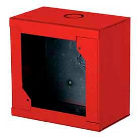 Edwards Signaling, 2459-WPB-R, Water-Proof Box, Red, For 2452THS-17-R, 2452Ths-15/75-R, And 2447TH