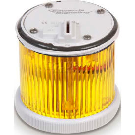 Edwards Signaling 270FY1248D Incandescent/LED Bulb Module Yellow 12-48V DC